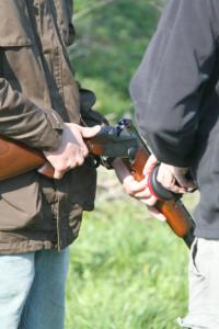 jagttegnsundervisning: fjernundervisningshold på skydebanen