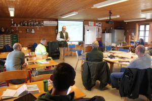 Aftenskole - Hold til jagttegnsundervisning.